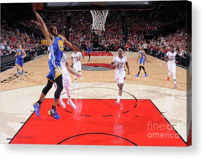 Playoffs Acrylic Print featuring the photograph Andre Iguodala by Sam Forencich