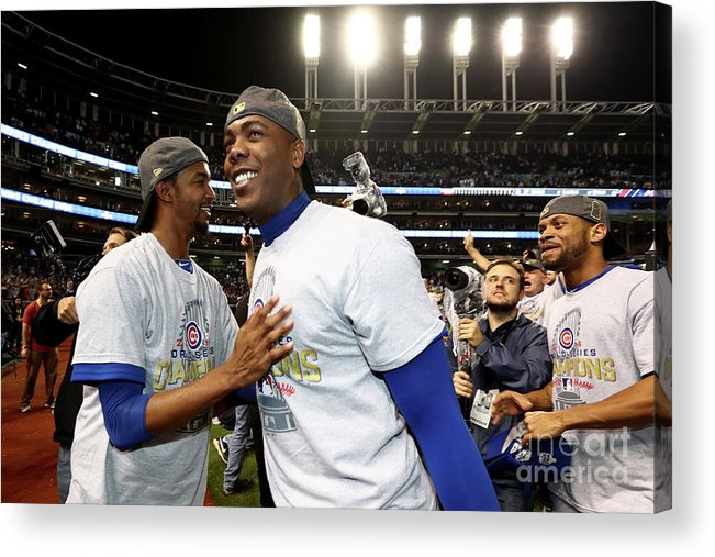 People Acrylic Print featuring the photograph Aroldis Chapman by Elsa