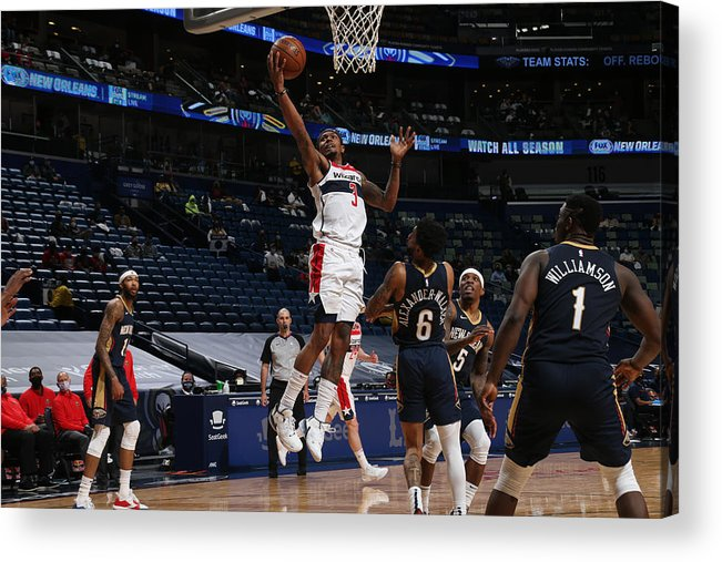 Smoothie King Center Acrylic Print featuring the photograph Bradley Beal by Layne Murdoch Jr.