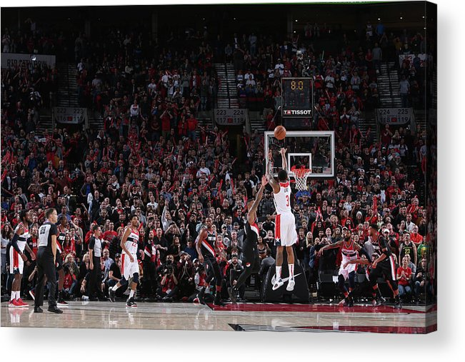 Nba Pro Basketball Acrylic Print featuring the photograph Bradley Beal by Sam Forencich