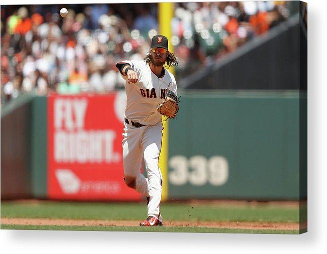 San Francisco Acrylic Print featuring the photograph Brandon League by Lachlan Cunningham