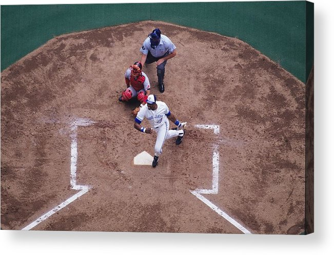 American League Baseball Acrylic Print featuring the photograph Dave Winfield by Ronald C. Modra/sports Imagery