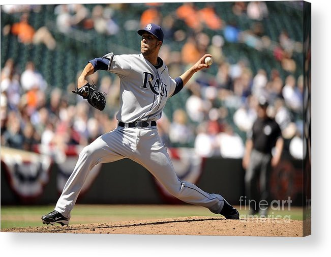 David Price Acrylic Print featuring the photograph David Price by G Fiume