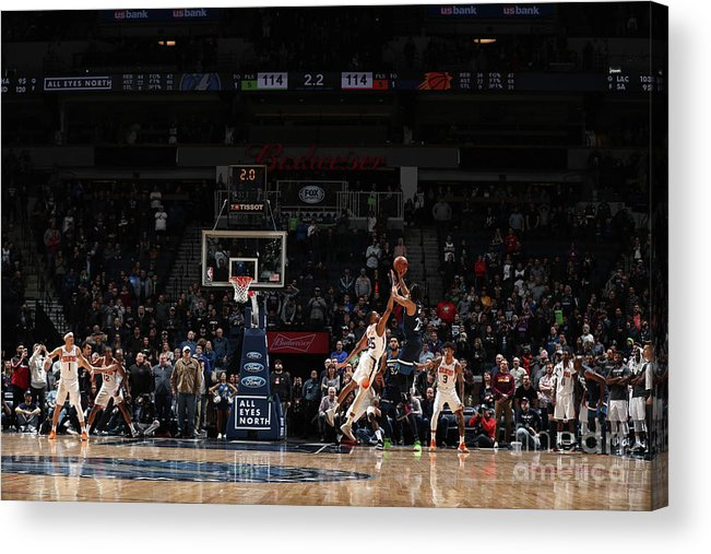 Nba Pro Basketball Acrylic Print featuring the photograph Derrick Rose by Jordan Johnson