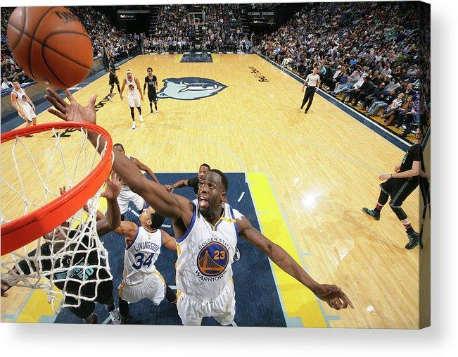 Nba Pro Basketball Acrylic Print featuring the photograph Draymond Green by Joe Murphy