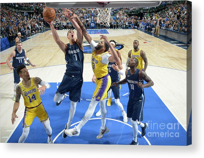 Dwight Powell Acrylic Print featuring the photograph Dwight Powell by Glenn James