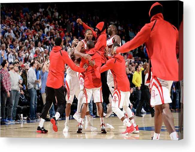 Nba Pro Basketball Acrylic Print featuring the photograph Eric Gordon by David Dow