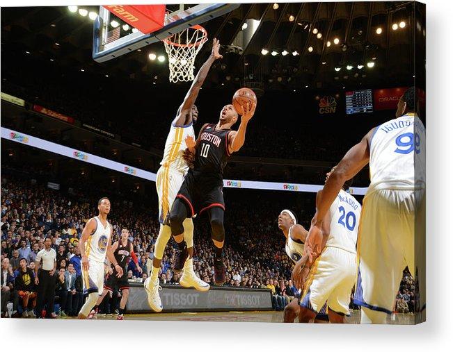 Nba Pro Basketball Acrylic Print featuring the photograph Eric Gordon by Noah Graham