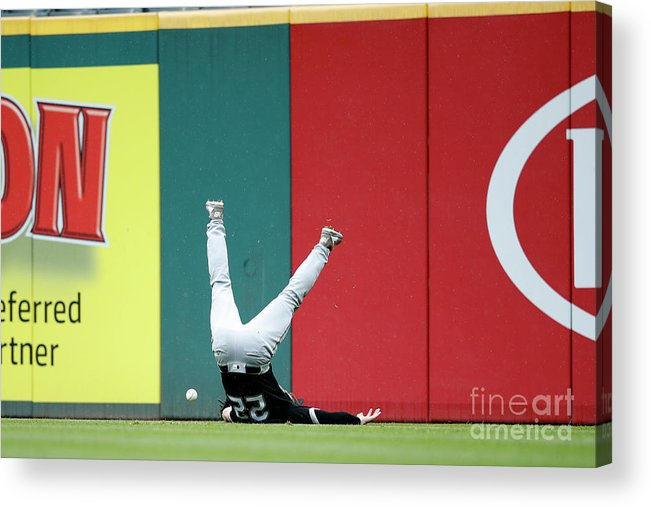 People Acrylic Print featuring the photograph Francisco Lindor by Joe Robbins