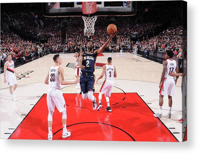 Playoffs Acrylic Print featuring the photograph Ian Clark by Sam Forencich