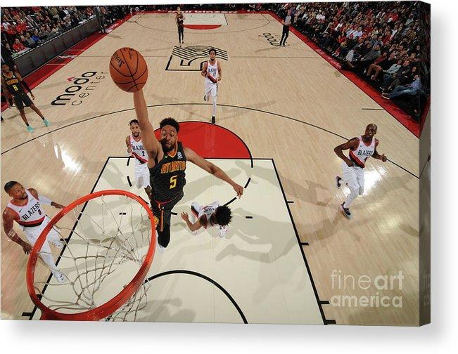 Nba Pro Basketball Acrylic Print featuring the photograph Jabari Parker by Cameron Browne