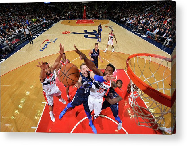 Nba Pro Basketball Acrylic Print featuring the photograph Jeff Green by Jesse D. Garrabrant