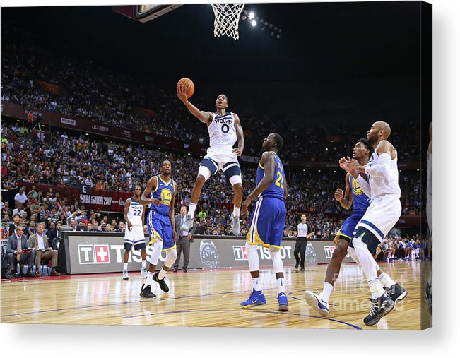 Event Acrylic Print featuring the photograph Jeff Teague by David Sherman