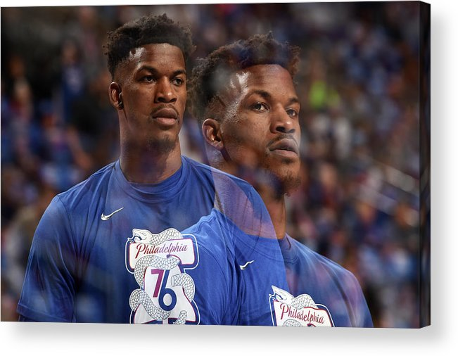 Playoffs Acrylic Print featuring the photograph Jimmy Butler by David Dow