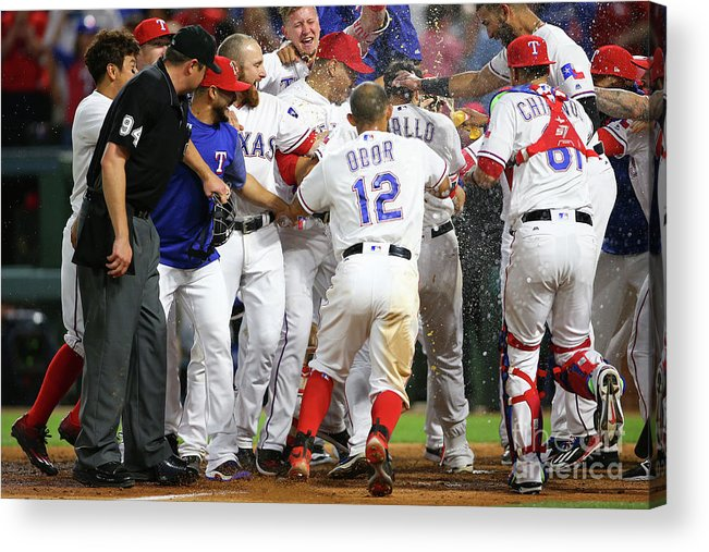 Ninth Inning Acrylic Print featuring the photograph Joey Gallo by Rick Yeatts