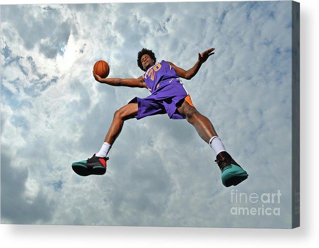 Nba Pro Basketball Acrylic Print featuring the photograph Josh Jackson by Jesse D. Garrabrant