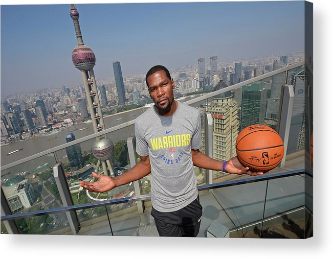 Event Acrylic Print featuring the photograph Kevin Durant by David Dow