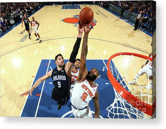 Nba Pro Basketball Acrylic Print featuring the photograph Kyle O'quinn by Nathaniel S. Butler