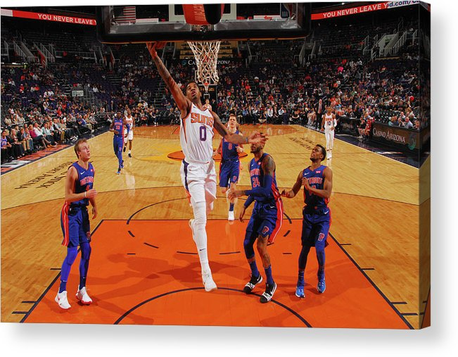 Sports Ball Acrylic Print featuring the photograph Marquese Chriss by Barry Gossage