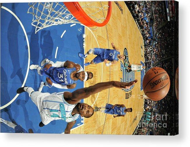 Nba Pro Basketball Acrylic Print featuring the photograph Michael Kidd-gilchrist by Fernando Medina