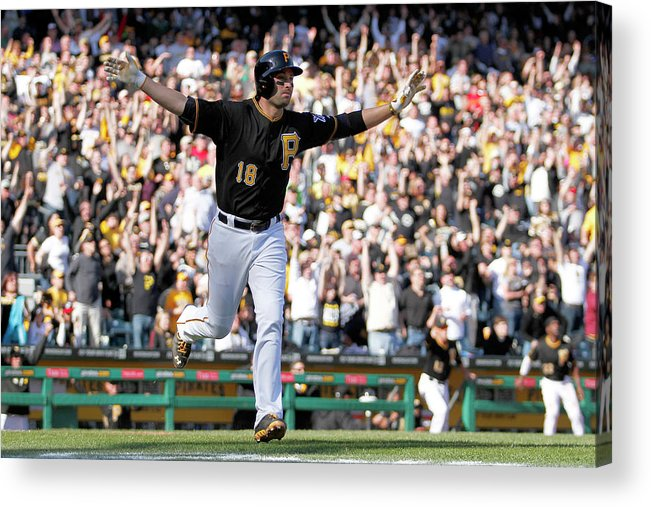 Professional Sport Acrylic Print featuring the photograph Neil Walker by Justin K. Aller