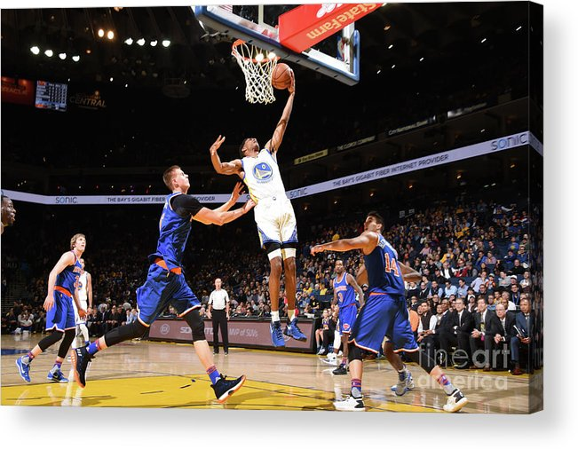 Nba Pro Basketball Acrylic Print featuring the photograph Patrick Mccaw by Andrew D. Bernstein