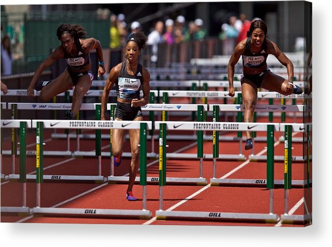 People Acrylic Print featuring the photograph Prefontaine Classic by Craig Mitchelldyer
