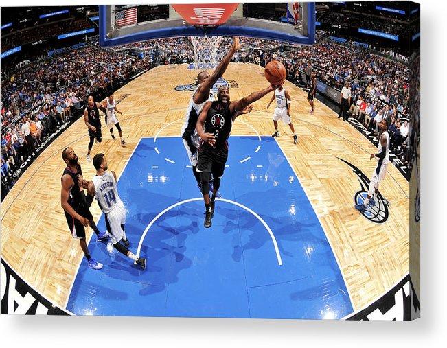 Nba Pro Basketball Acrylic Print featuring the photograph Raymond Felton by Fernando Medina