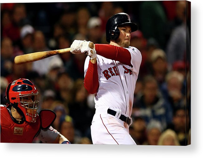 Playoffs Acrylic Print featuring the photograph Stephen Drew by Elsa