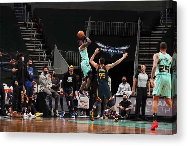 Nba Pro Basketball Acrylic Print featuring the photograph Terry Rozier by Kent Smith