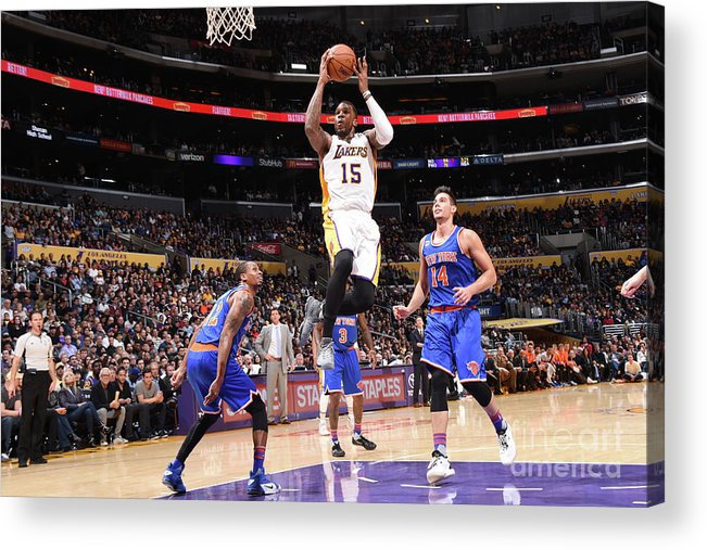 Nba Pro Basketball Acrylic Print featuring the photograph Thomas Robinson by Andrew D. Bernstein