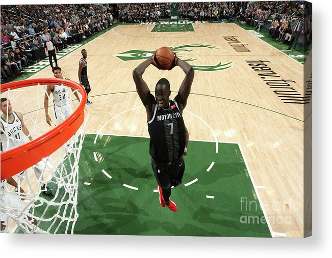 Playoffs Acrylic Print featuring the photograph Thon Maker by Gary Dineen
