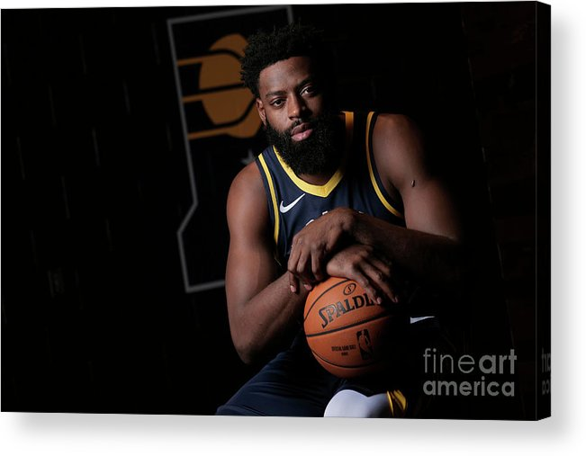 Media Day Acrylic Print featuring the photograph Tyreke Evans by Ron Hoskins