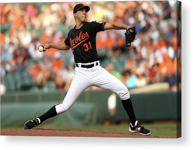 Working Acrylic Print featuring the photograph Ubaldo Jimenez by Patrick Smith