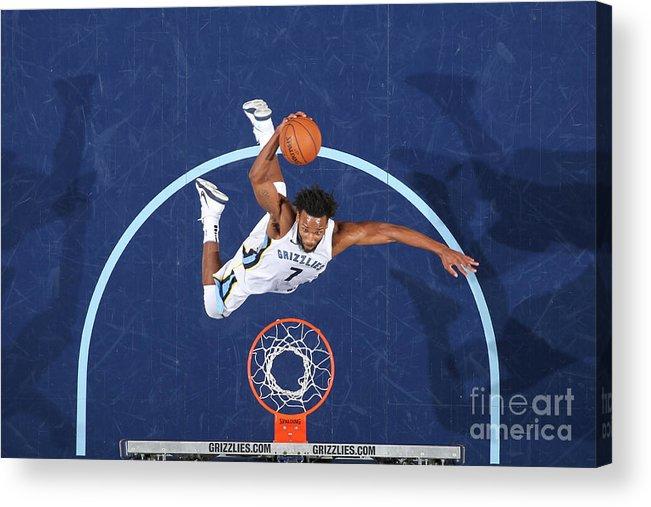 Nba Pro Basketball Acrylic Print featuring the photograph Wayne Selden by Joe Murphy