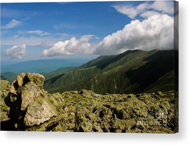 Alpine Zone Acrylic Print featuring the photograph White Mountain National Forest - New Hampshire USA by Erin Paul Donovan