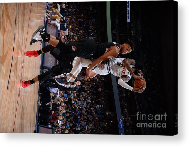Playoffs Acrylic Print featuring the photograph Will Barton by Bart Young