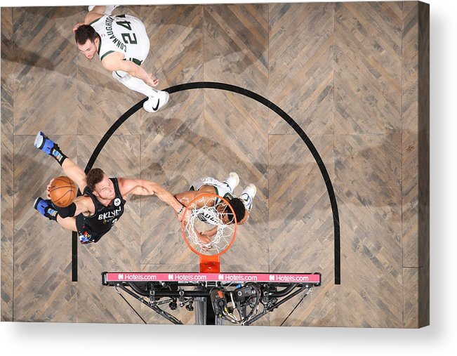 Playoffs Acrylic Print featuring the photograph Blake Griffin by Nathaniel S. Butler