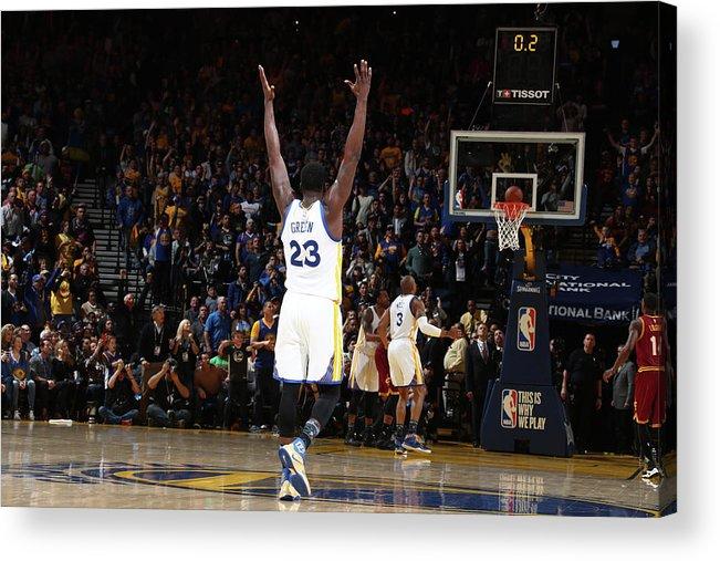 Nba Pro Basketball Acrylic Print featuring the photograph Draymond Green by Nathaniel S. Butler