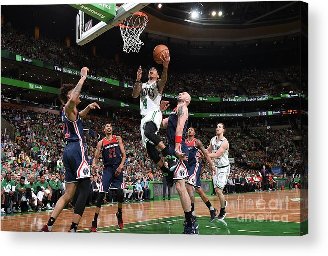 Playoffs Acrylic Print featuring the photograph Isaiah Thomas by Brian Babineau