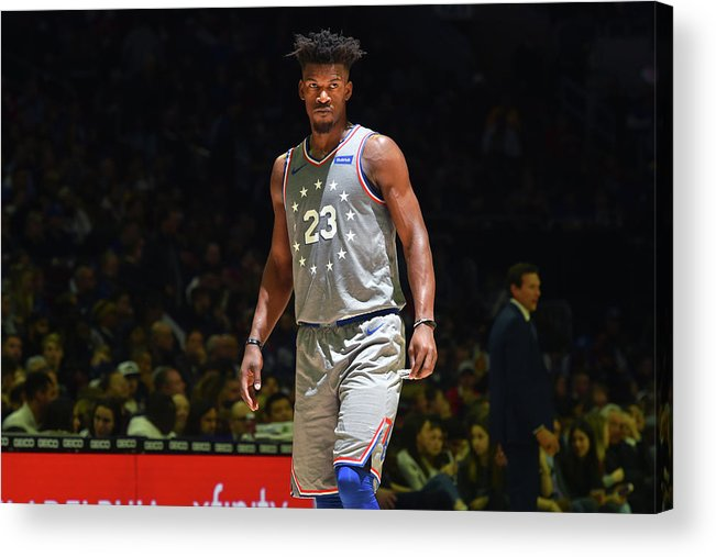 Nba Pro Basketball Acrylic Print featuring the photograph Jimmy Butler by Jesse D. Garrabrant