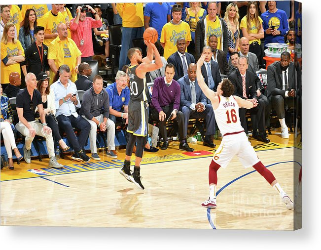 Playoffs Acrylic Print featuring the photograph Stephen Curry by Jesse D. Garrabrant