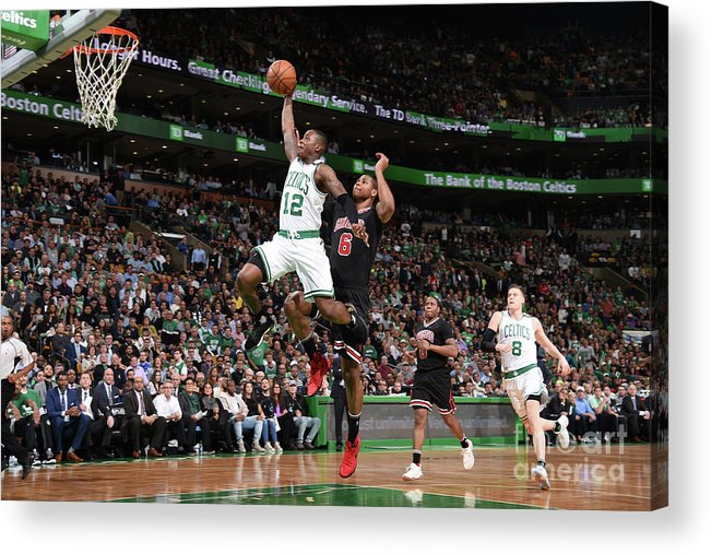 Playoffs Acrylic Print featuring the photograph Terry Rozier by Brian Babineau