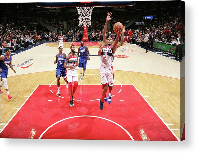Nba Pro Basketball Acrylic Print featuring the photograph Bradley Beal by Ned Dishman