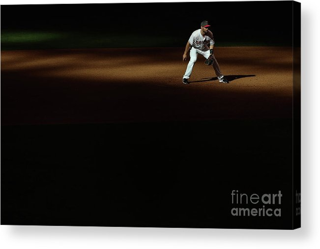 Mother's Day Acrylic Print featuring the photograph Paul Goldschmidt by Christian Petersen