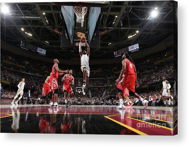 Nba Pro Basketball Acrylic Print featuring the photograph Lebron James by Joe Murphy
