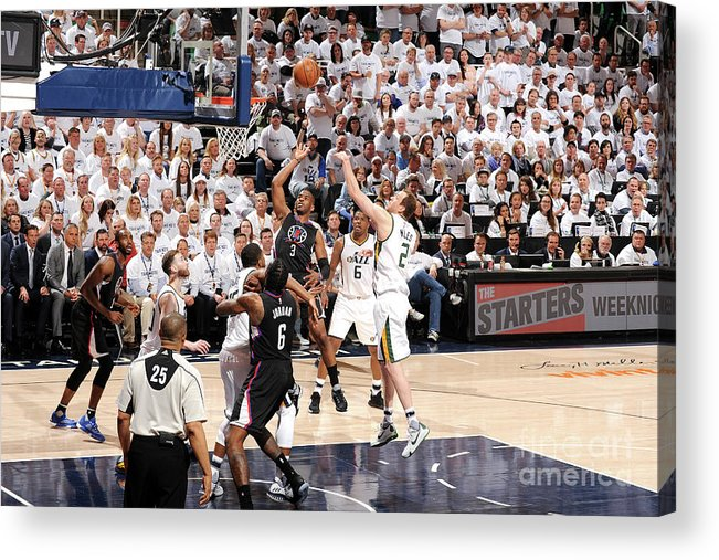 Playoffs Acrylic Print featuring the photograph Chris Paul by Andrew D. Bernstein