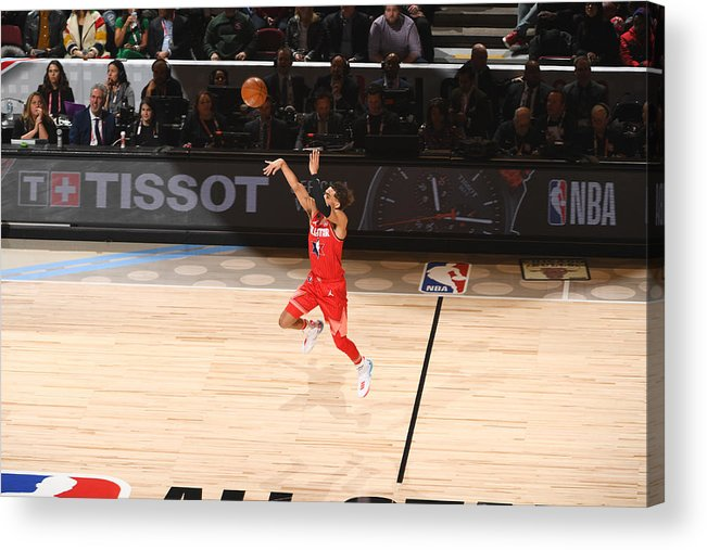 Nba Pro Basketball Acrylic Print featuring the photograph 69th NBA All-Star Game by Garrett Ellwood