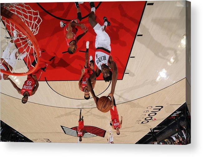 Nba Pro Basketball Acrylic Print featuring the photograph Al-farouq Aminu by Cameron Browne