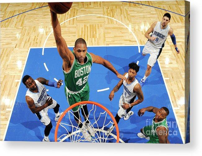 Nba Pro Basketball Acrylic Print featuring the photograph Al Horford by Fernando Medina